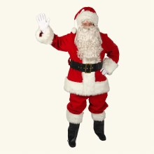 Red Velvet Deluxe Santa Outfit