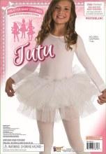 Fluffy Child Tutu White
