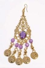 Earrings Desert Princess Coin