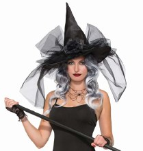 Hat Witch w/ Tulle