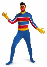 Ernie Body Suit Adult XXL