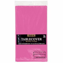 Bright Pink Pl. Tablecover