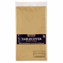 Gold Pl. Tablecover