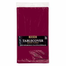 Berry Plastic Tablecover