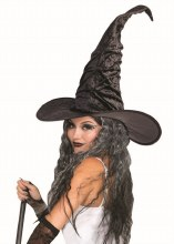 Hat Witch w/ Mesh Spiderweb