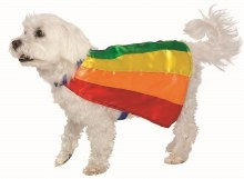 Pet Cape Rainbow STD