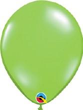 "11"" Jewel Lime Green (Transparent)"