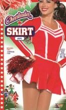 Cheerleader Pleated Skirt Red
