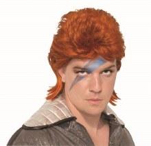Wig Orange Rockstar