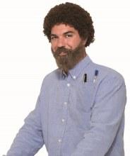 Wig 80's With Beard