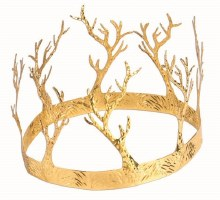 Crown Gld Antlers Metal