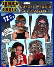 Photo Booth Props Zombie Party