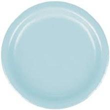 Blue Pastel 7in Plt 24ct