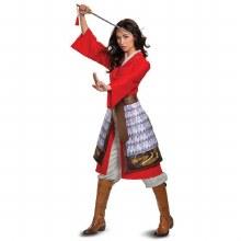 Mulan Hero Dress Adult Large