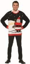 Sweater Santa Peeing XL