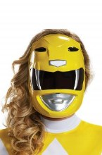 Mask Yellow Ranger Adult