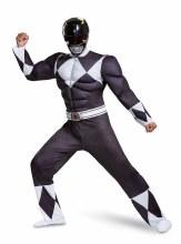 Black Ranger Muscle Adult XL