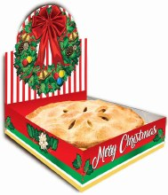"Christmas Pop Up Pie Box ~ 1 ct./12""x12""x3"""