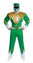 Green Ranger Muscle Adult XL