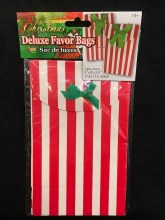 "Christmas Deluxe Favor Bags ~ 2 Pack/5""x8""x2.5"""