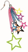 Earrings 80's Stars