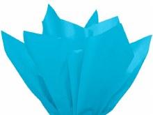 Tissue Wrap Turquoise