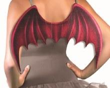 Wings Devil/Demon Red