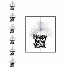 NY Firework Stringer BLK/SLVR