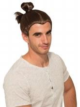 Wig Man Bun