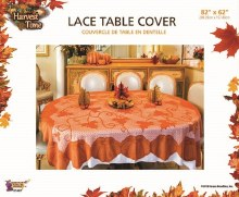 Tablecover Lace Pumpkin