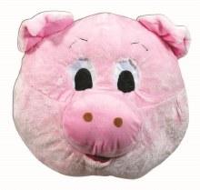 Mask Pig Mascot