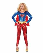 Supergirl Catsuit Lg