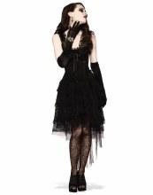 Black As Night Lace Dress STD