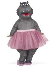 Inflatable Hippo w/Tutu OS