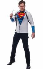 Superman Top w/ Tie Std