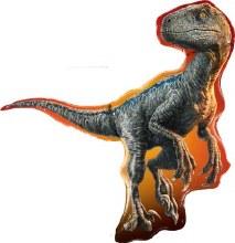 "Jumbo Jurassic World Velociraptor Dinosaur ""Blue"" ~ 38"""