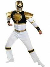 White Ranger Muscle XL