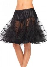 Petticoat Blk Knee Length