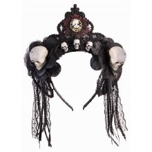 Headband Fancy Skull