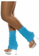 Neon Blue Leg Warmer