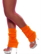 Neon Orange Leg Warmer
