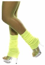 Neon Yellow Leg Warmer