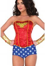 Wonder Woman Corset S/M