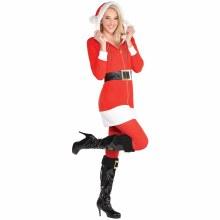 Santa Hoodie Dress L/XL