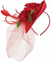 Headband Derby Rose