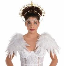 Wings Shoulder Heavenly Wht