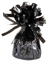 Fringed Balloon Weight ~ Black
