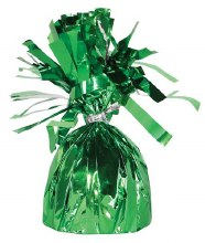 Fringed Balloon Weight ~ Green