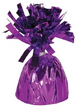 Fringed Balloon Weight ~ Purple