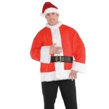 Santa Coat w/ Belt ~ XXL